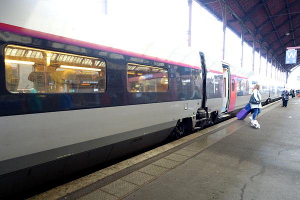 ストラスブール TGV