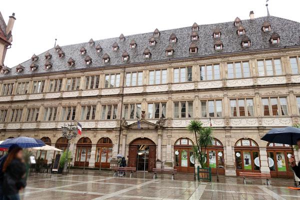 ストラスブール 市庁舎 オテル・ド・ヴィル