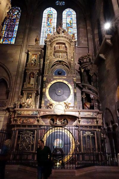 ストラスブール 大聖堂 天文時計