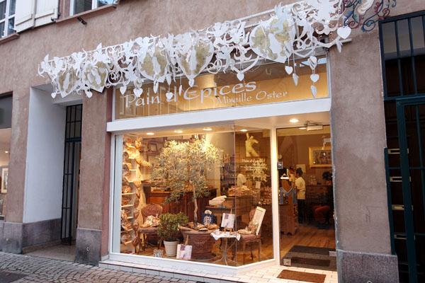 ストラスブール Strasbourg パン・デピス Pain d'épices ジョリビジュ JOLI BIJOU