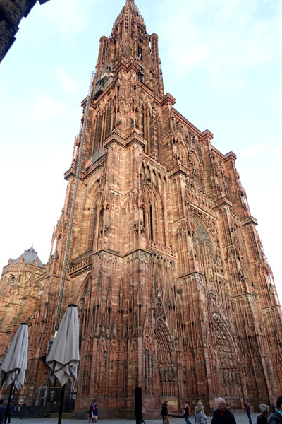 アルザス ストラスブール大聖堂